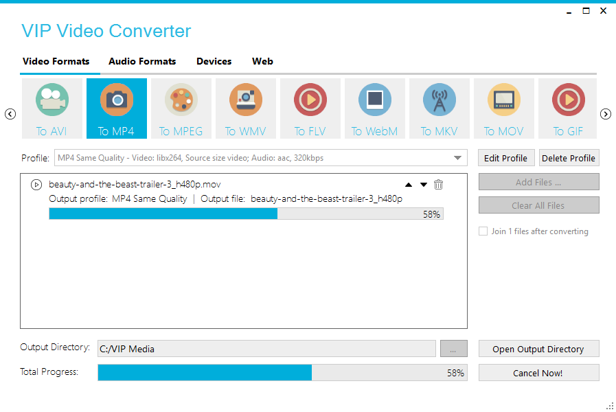Click Start Converting And The Compression Will Begin Duration Can Vary Depending On Video File Size