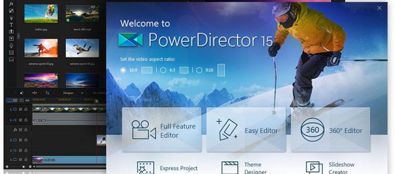 How to export Cyberlink PowerDirector video to MP4 / AVI